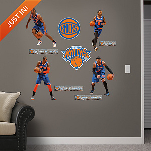 New York Knicks Power Pack Fathead Wall Decal