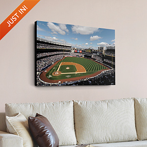 Inside Yankee Stadium Canvas Print