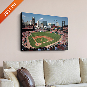 Inside Busch Stadium Canvas Print