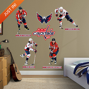 Washington Capitals Power Pack Fathead Wall Decal