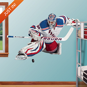 Henrik Lundqvist - Goaltender Fathead Wall Decal