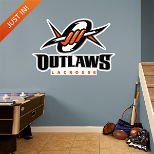 Denver Outlaws Logo Fathead Wall Decal