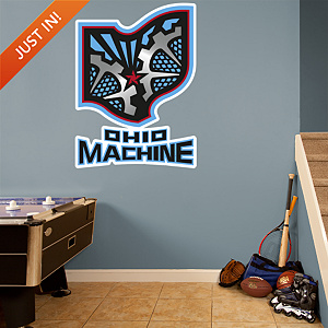 Ohio Machine Logo Fathead Wall Decal