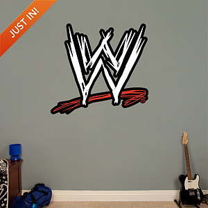 WWE Logo Fathead Wall Decal