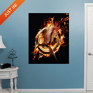 The Hunger Games: Catching Fire Logo Fathead Wall Decal