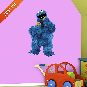 Cookie Monster Fathead Wall Decal