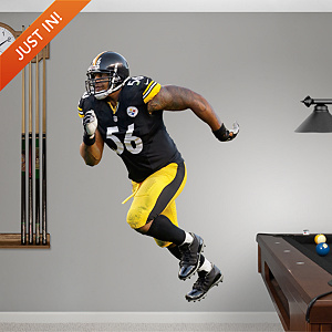 LaMarr Woodley - No. 56 Fathead Wall Decal