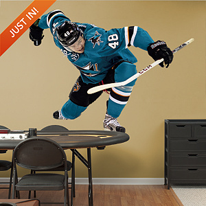 Tomas Hertl Fathead Wall Decal