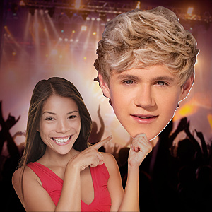 Niall Horan: One Direction Big Head Cut Out