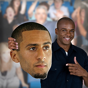 Colin Kaepernick Big Head Cut Out