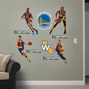 Golden State Warriors Power Pack Wall Decals