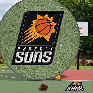 Phoenix Suns Street Grip Outdoor Graphic