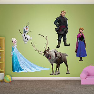 Disney's Frozen Collection Fathead Wall Decal