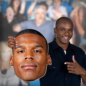 Cam Newton Big Head Cut Out