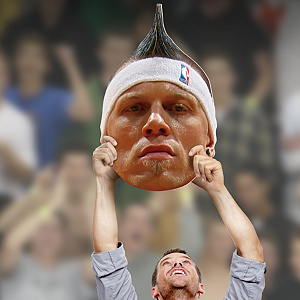 Chris Andersen Big Head Cut Out