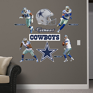 Dallas Cowboys Power Pack Wall Decals