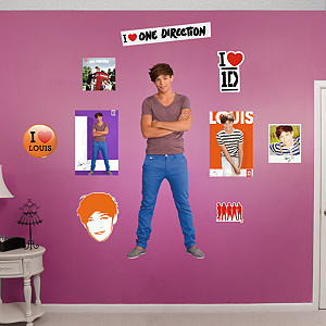 Louis Tomlinson: One Direction Fathead Wall Decal