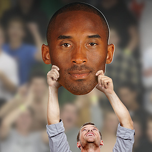 Kobe Bryant Big Head Cut Out