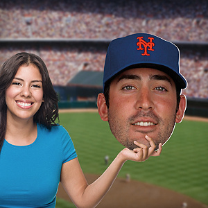 Matt Harvey Big Head Cut Out