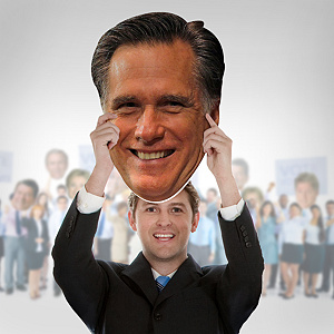 Mitt Romney Big Head Cut Out