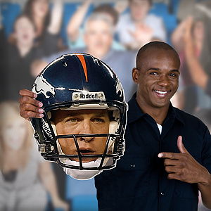 Peyton Manning Game Day Big Head