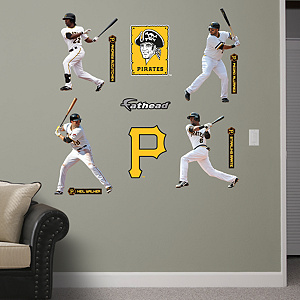 Pittsburgh Pirates Power Pack Fathead Wall Decal