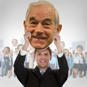 Ron Paul Big Head Cut Out