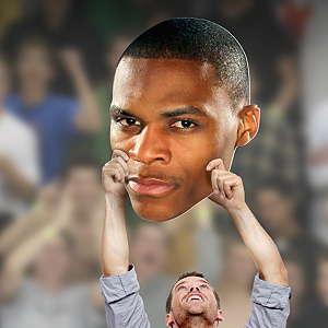 Russell Westbrook Big Head Cut Out
