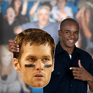 Tom Brady Big Head Cut Out