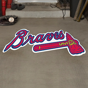 Atlanta Braves Street Grip Outdoor Graphic