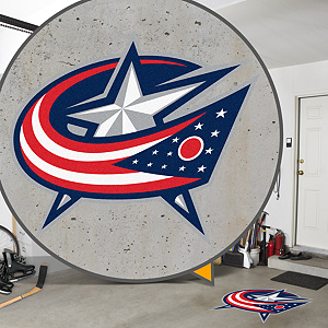 Columbus Blue Jackets Street Grip Outdoor Graphic
