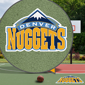 Denver Nuggets Street Grip Outdoor Graphic