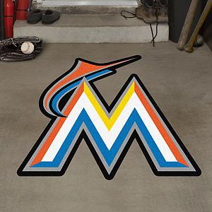 Miami Marlins Street Grip Outdoor Graphic