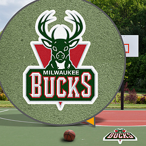 Milwaukee Bucks Street Grip Outdoor Graphic
