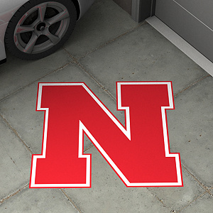Nebraska Cornhuskers Street Grip Outdoor Graphic