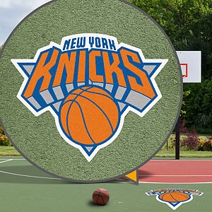 New York Knicks Street Grip Outdoor Graphic