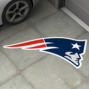 New England Patriots Street Grip Ground Graphic