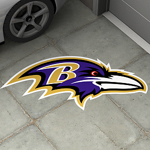 Baltimore Ravens Street Grip Outdoor Graphic
