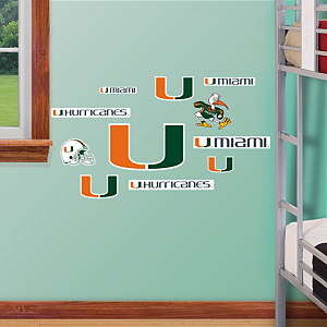 Miami Hurricanes - Team Logo Assortment