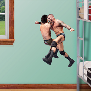 Randy Orton Clothesline - Junior Fathead Wall Decal