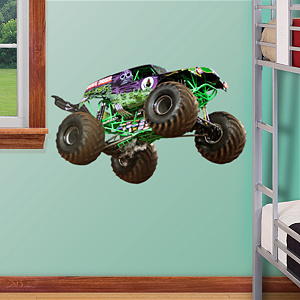 Grave Digger Fathead Jr Wall Decal