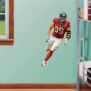 J.J. Watt Fathead Jr Wall Decal