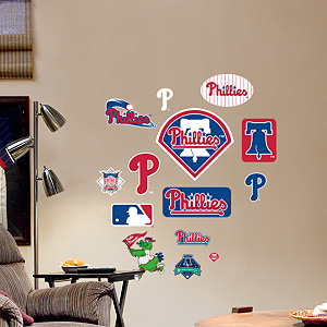 Philadelphia Phillies - Team Logo Assortment
