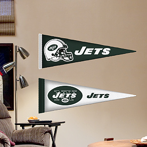 New York Jets Pennants - Fathead Jr. Fathead Wall Decal
