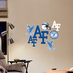 Air Force Falcons - Team Logo Assortment Fathead Wall Decal