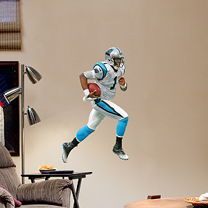 Cam Newton: Away - Fathead Jr. Fathead Wall Decal