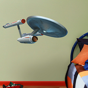 U.S.S. Enterprise NCC-1701 - Fathead Jr.