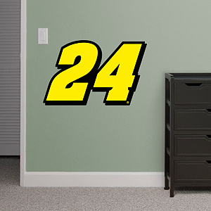 Jeff Gordon Number 24 Logo - Fathead Jr. Wall Decal