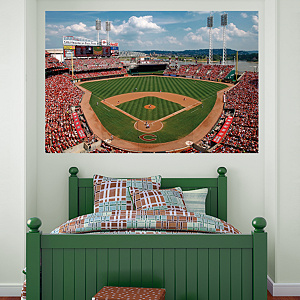 Inside Great American Ball Park Mural Fathead Wall Decal