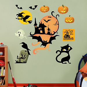 Halloween Icons Fathead Wall Decal